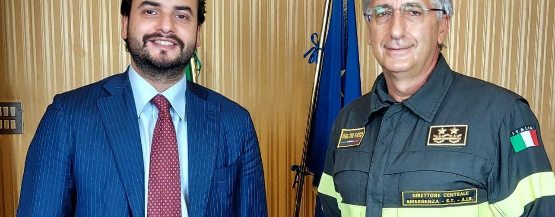 Guido Parisi nuovo comandante dei vigili del fuoco: gli auguri di Sibilia