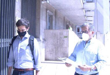 """VIDEO/ Il dossier inquinamento nelle mani del Procuratore Airoma, Mazza: """"Documento molto utile per l'indagine"""""""