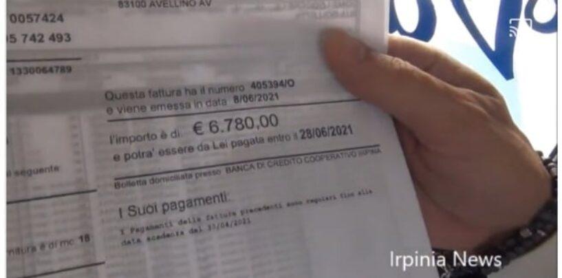 """Avellino, riceve bolletta di 6800 euro dall'Alto Calore: """"Pensavo fosse uno scherzo""""/VIDEO"""
