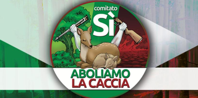 """""""Aboliamo la caccia"""", servono 500mila firme. Si può aderire al referendum anche ad Avellino"""