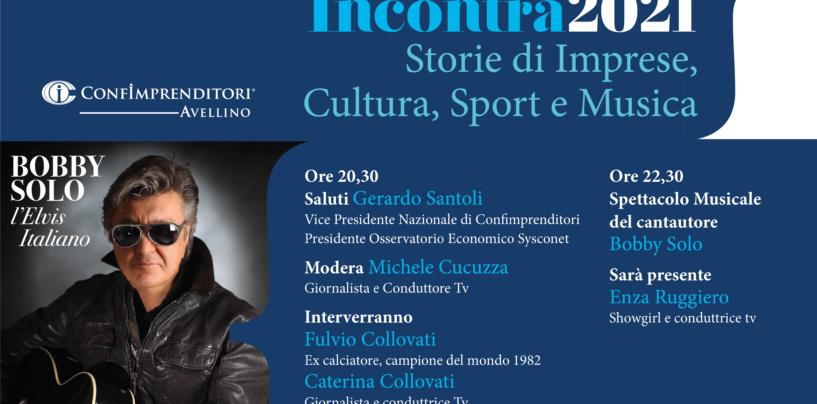 """Bobby Solo e Collovati per """"Confimprenditori Incontra 2021"""" a Santo Stefano del Sole"""