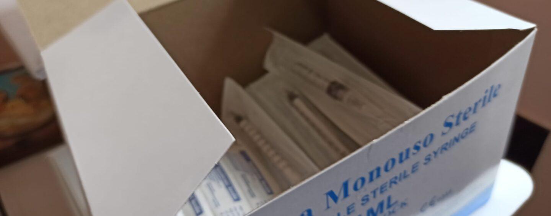 Centri Vaccinali: poco più di 1.400 le dosi di vaccino somministrate ieri