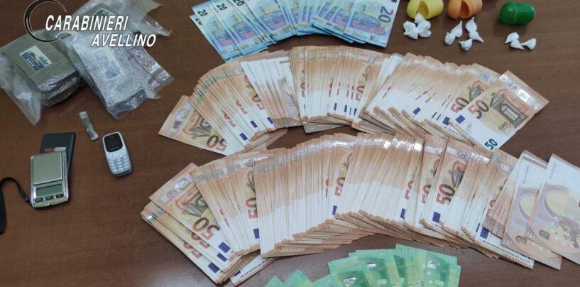 """Chiusano San Domenico, la droga non sfugge al fiuto di """"Olli"""": sequestrato mezzo Kg di hashish, un etto di cocaina e 20mila euro in contanti"""