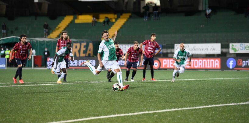 D'angelo salva l'Avellino. Al Partenio-Lombardi è 1 a 1 all'esordio con il Campobasso