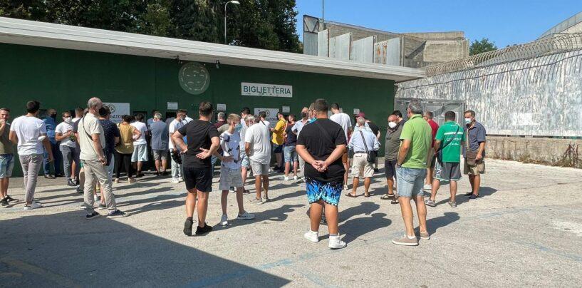 Avellino – Campobasso: è corsa al biglietto, Tribuna Terminio sold out