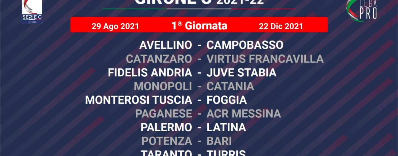 Lega Pro, per l'Avellino esordio al Partenio contro il Campobasso. Ecco il cammino dei lupi