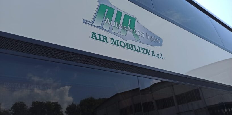 Air, rientrano ad Avellino i bus trasferiti in via temporanea a Caserta