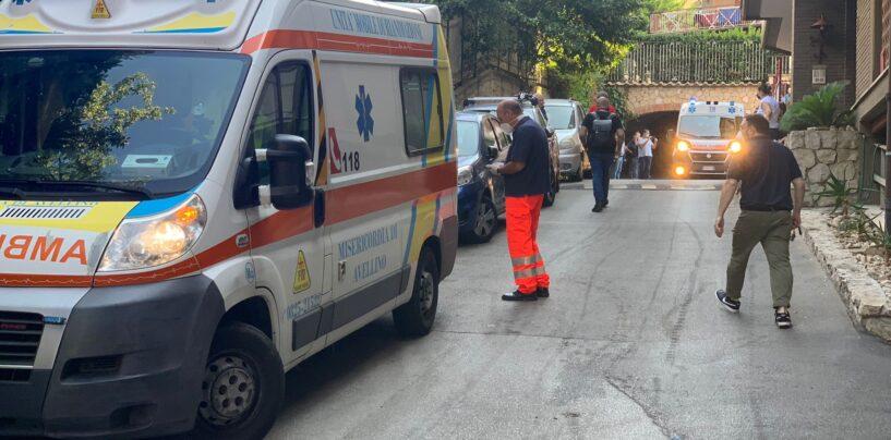 FOTO / Incendio in appartamento a Parco Abate, una persona in ospedale IN AGGIORNAMENTO