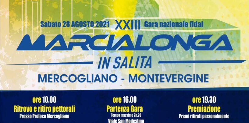 Domani 23esima edizione della marcialonga in salita Mercogliano-Montevergine