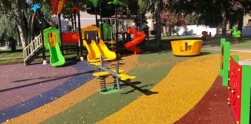 Volturara Irpina: inaugurato il nuovo parco giochi nel viale Rimembranza