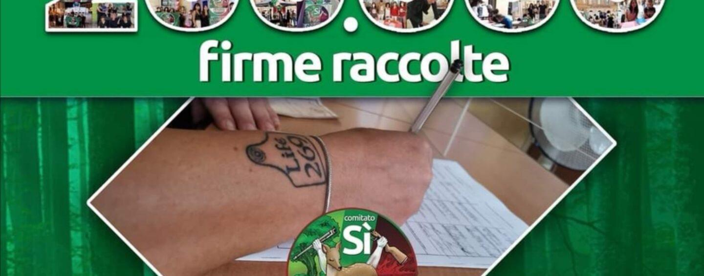 Referendum SiAboliamolaCaccia, la raccolta firme prosegue anche ad Avellino