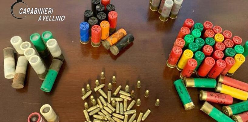 Montoro, 50enne in possesso di munizioni: denunciato