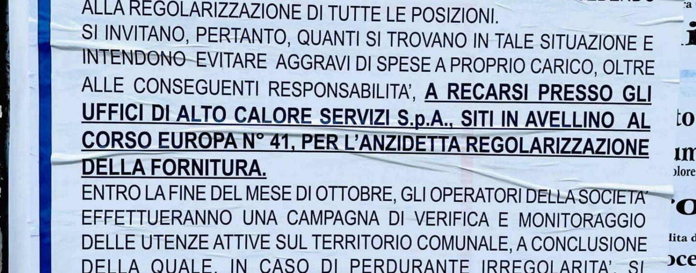 Manifesto Alto Calore a Montemiletto: i chiarimenti ai cittadini