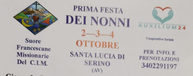 Prima festa dei nonni a Santa Lucia di Serino: il programma