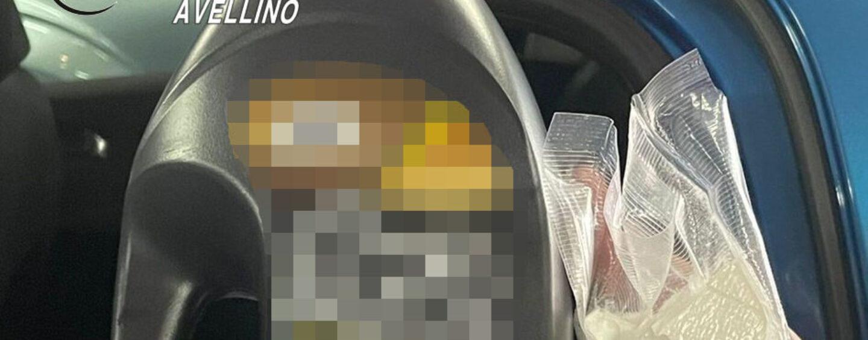 Avellino, sorpreso con 60 grammi di cocaina nascosta nel detersivo: arrestato 44enne di Forino