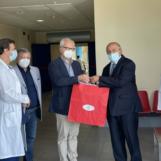 """L'ACI Avellino dona un ecografo wireless al """"Moscati"""""""
