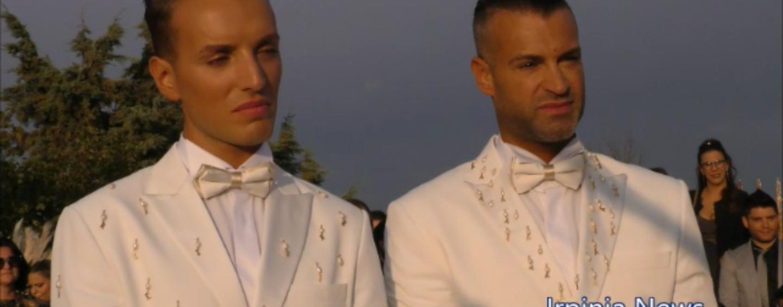 """Roberto e Antonio sposi a Cairano: """"Ci amiamo da 8 anni e lottiamo contro l'omofobia""""/VIDEO"""