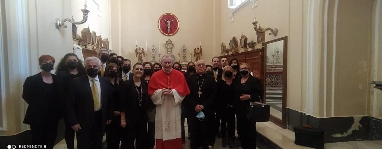 """Cardinale Parolin, un """"pezzo"""" di Grottaminarda a Montevergine"""