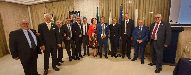 Rotary Club Avellino: l'ingegnere Acocella è il nuovo presidente