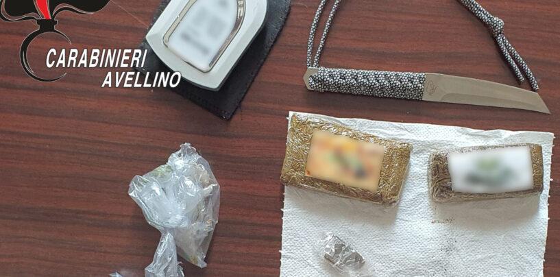 Avellino e Montoro, spaccio di droga: due persone in manette