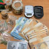 Lotta alla droga: a Solofra denunciato pusher e segnalato assuntore