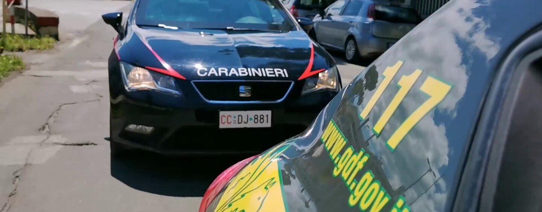 Contrabbando di sigarette: maxi blitz di Carabinieri e Guardia di Finanza