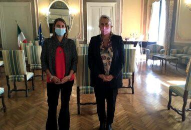 Condizione fiumi in Irpinia, la deputata Maria Pallini ha incontrato il Prefetto