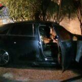Solofra, auto in fiamme nella notte: indagano i carabinieri
