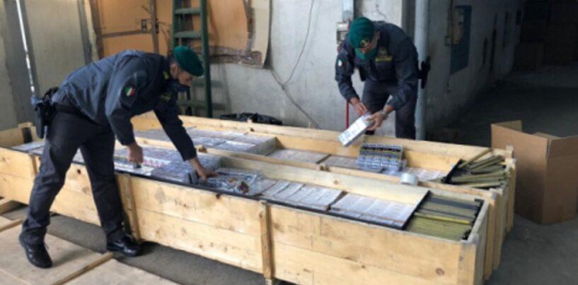 In manette 6 contrabbandieri, sequestrate 3,8 tonnellate di sigarette