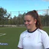 Marie Claire Petrillo, dal campetto di Lapio alla Nazionale Italiana: la favola della giovane calciatrice irpina/VIDEO
