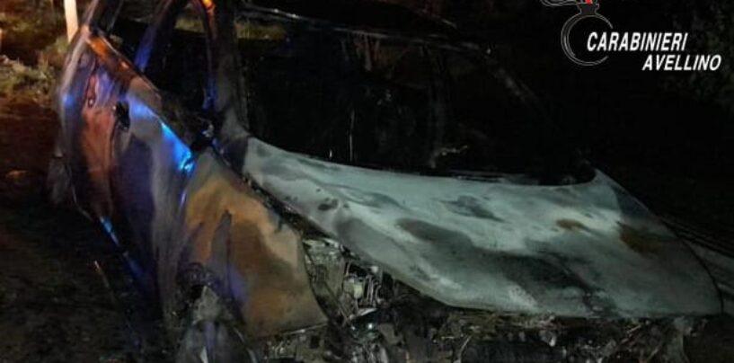 Aiello, auto distrutta dalle fiamme: indagano i carabinieri