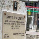 """VIDEO/ """"Salvo D'Acquisto un esempio per tutti i Carabinieri"""". Mercogliano dedica un cippo al Vicebrigadiere fucilato dai nazifascisti"""