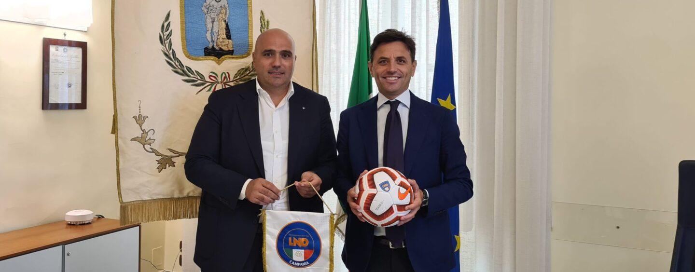 Impiantistica sportiva, incontro tra Presidente Zigarelli e Vicepresidente ANCI per aiutare le società campane