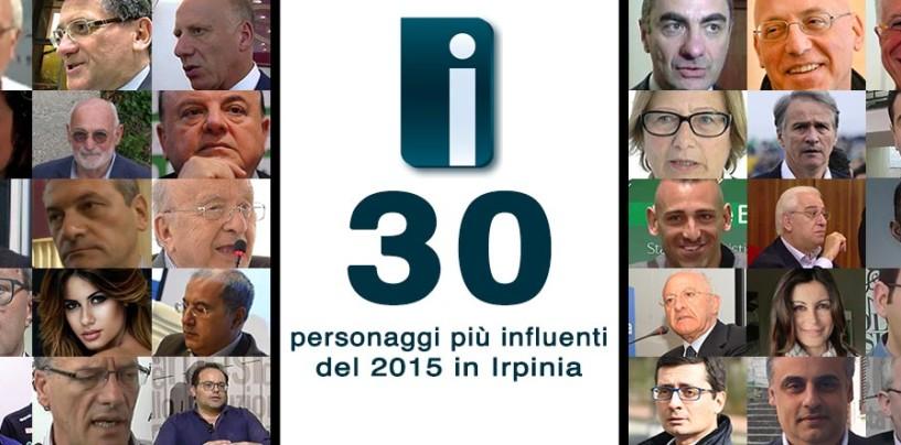 I 30 personaggi più influenti del 2015 in Irpinia secondo Irpinianews