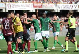 Il derby con la Salernitana all'esordio