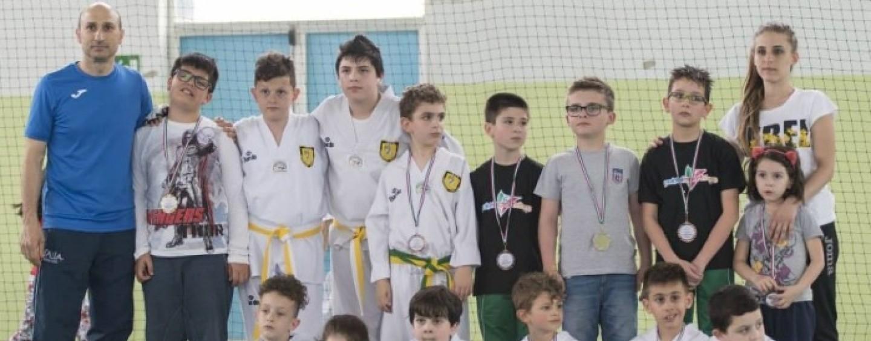 Allenamento collegiale per i ragazzi dell'Asd Taekwondo Avellino