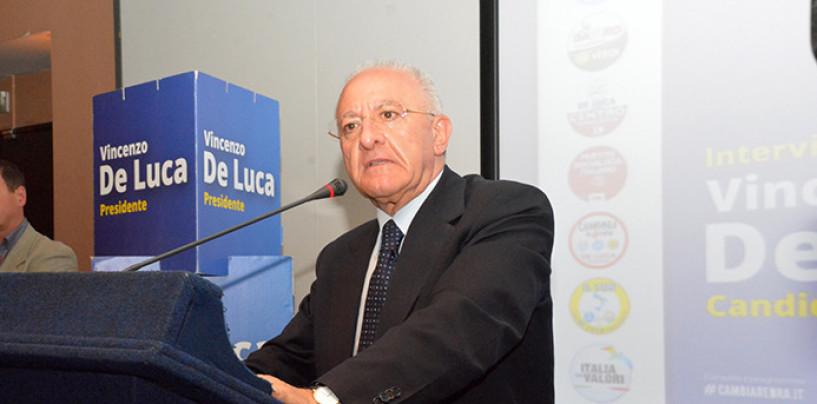 FOTO/ Regione, ecco la nuova Giunta di De Luca: tutti i nomi dei neo assessori