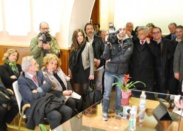 Regionali, De Luca scende in campo: la fotogallery