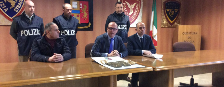 La droga corre tra Ariano e Foggia, arrestati 4 arianesi in Puglia