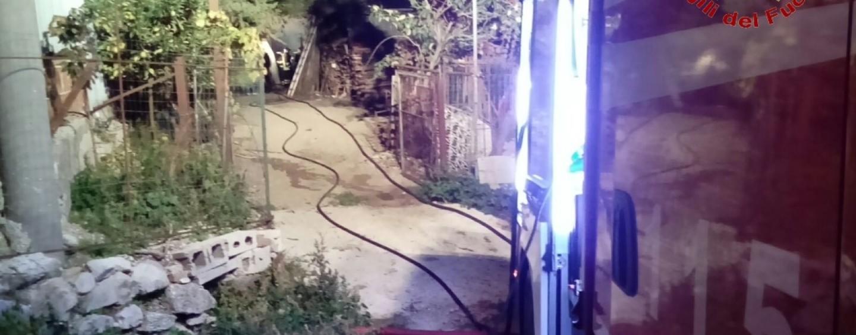 Inferno in fattoria a Quaglietta, è strage di animali