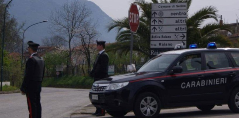 Tentato furto alle Poste di Serino, ladri in fuga senza malloppo