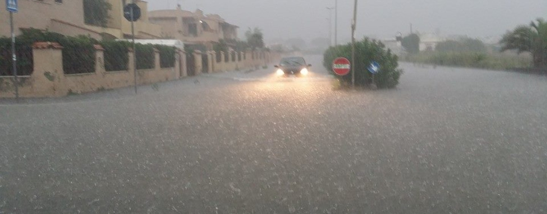 Catania come Benevento: piogge torrenziali e nubifragi