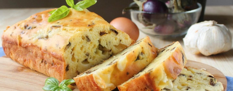 Ricette veloci – Plumcake di melanzane e fontina