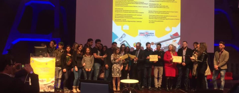 L'app dell'Istituto Amatucci premiata a Città della Scienza