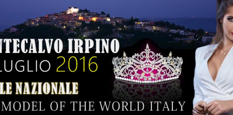 Top Model of the World, prestigioso appuntamento a Montecalvo Irpino per la finale nazionale