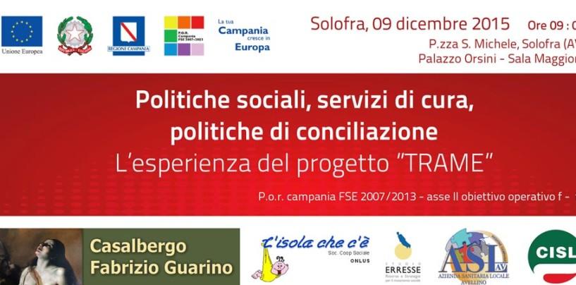 Politiche sociali, tavola rotonda a Solofra con l'assessore regionale Marciani e D'Amelio