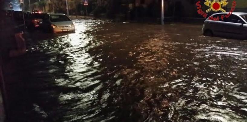 FOTO/ Maltempo in Irpinia, tutti gli interventi dei Vigili del Fuoco