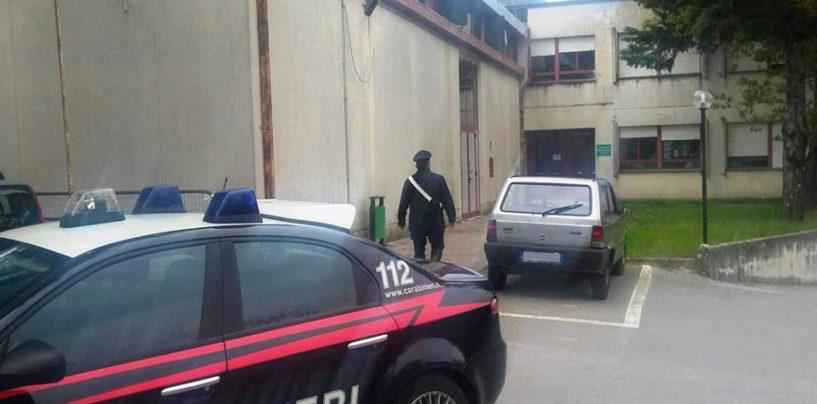 Tentano furto all'Asl di Montella, ladri in fuga