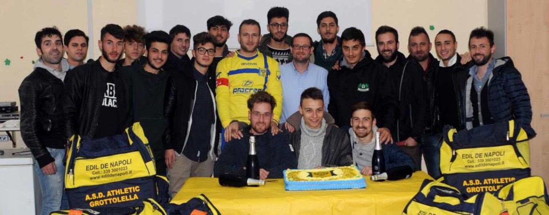 Terza Categoria, Girone A: prima vittoria per l'Athletic Grottolella