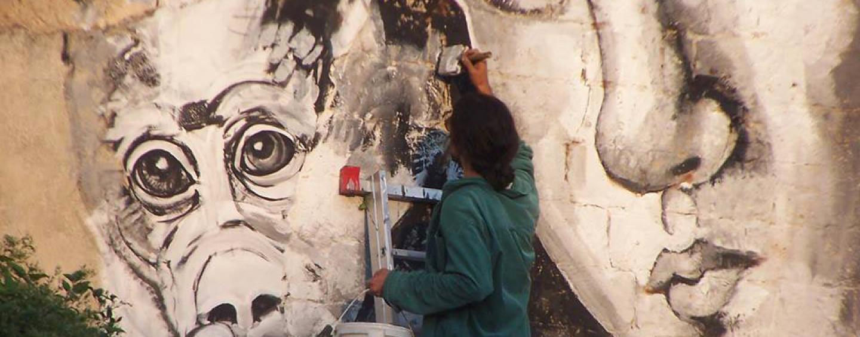 Rassegna di arte in strada a San Michele di Serino con Atoche